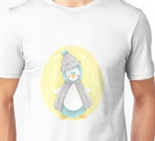 Pinguin. Winter. Weihnachten.  Unisex T-Shirt