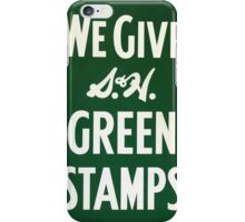Green Stamps iPhone Case/Skin