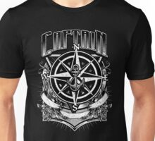 Vintage Nautical Captain with Compass and Anchor Unisex T-Shirt