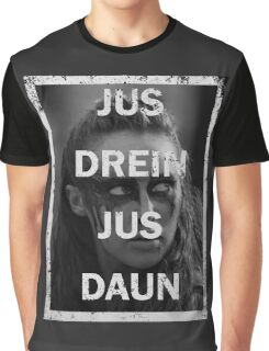 Lexa - The 100 - Jus drein jus daun Graphic T-Shirt