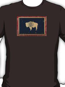 Wyoming State Flag VINTAGE T-Shirt