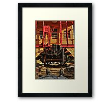 Caboose On The Loose Framed Print