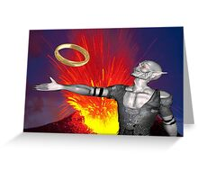 Ring of Destruction Greeting Card