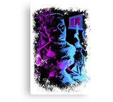 Mad Scientist Canvas Print