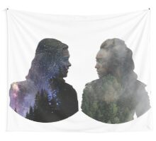 Clexa - The 100 - Face to Face Wall Tapestry