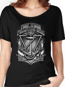 Vintage Nautical Fare Winds and Following Seas Anchor and rope Women's Relaxed Fit T-Shirt
