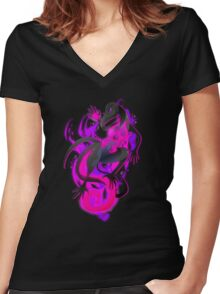 Salazzle Women's Fitted V-Neck T-Shirt