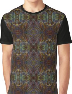 Dark Matter Abstract Psychedelic  Graphic T-Shirt