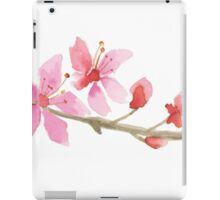 Cherry blossom water color painting iPad Case/Skin
