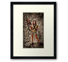 I HUNT - YOU COOK!   ... Framed Print