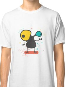 Cute Monster with emotions  Classic T-Shirt