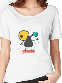 Cute Monster with emotions  Women's Relaxed Fit T-Shirt