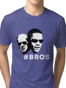Barrack Obama & Joe Biden Friends~ On Sale Limited Time Only Tri-blend T-Shirt