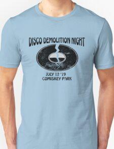 Disco Demolition Night - Black Unisex T-Shirt