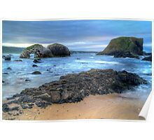 Northern Ireland Seascape Poster
