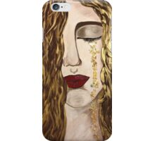 Golden Tears. iPhone Case/Skin