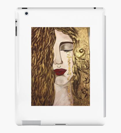 Golden Tears. iPad Case/Skin
