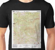 USGS TOPO Map California CA Waterman Mountain 102398 1995 24000 geo Unisex T-Shirt