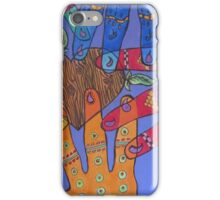 Helping Hands iPhone Case/Skin