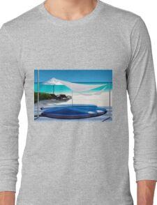 Luxury Beach Resort in the Maldives - The perfect Honeymoon Long Sleeve T-Shirt