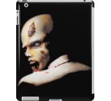 Resident evil original OG iconic zombie! the one started it all! 100% Redrawn In Adobe Ilustrator Vector Format. iPad Case/Skin