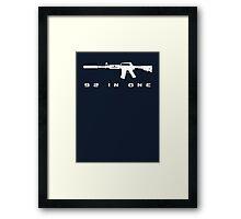M4A1S - CS:GO Framed Print