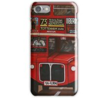 ROUTE MASTER BUS #73 iPhone Case/Skin