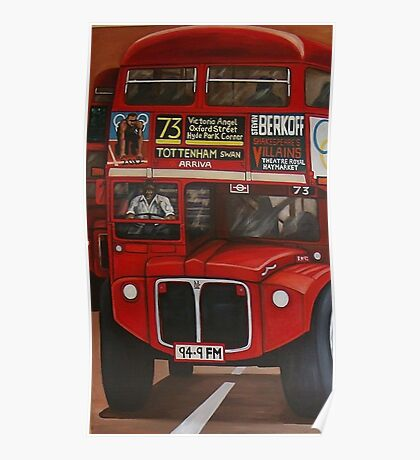 ROUTE MASTER BUS #73 Poster