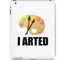 I arted iPad Case/Skin