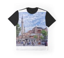 Street Scene of Istanbul Graphic T-Shirt