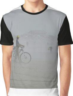 Sandy walk by seaside. Graphic T-Shirt