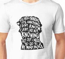 Sherlock's mind Unisex T-Shirt
