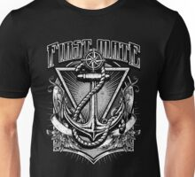 Vintage Nautical First Mate Anchor and Rope Unisex T-Shirt
