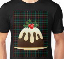 plaid christmas puddings  Unisex T-Shirt