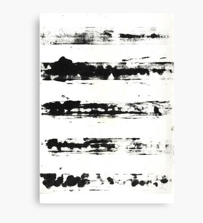 Plaster Printmaking  Canvas Print