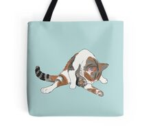 Calico Cat Bath Time Tote Bag
