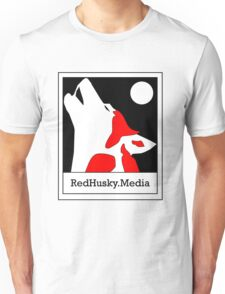 Red Husky Media Logo Unisex T-Shirt