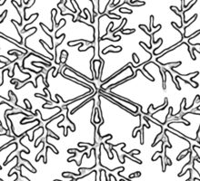 Snow Flake II Sticker
