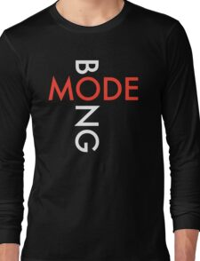 Mode Bong white DM logo Long Sleeve T-Shirt