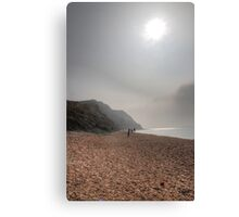 Hazy Beach Canvas Print