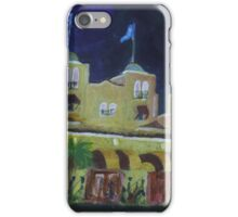 Colony Hotel at Night. Delray Beach iPhone Case/Skin