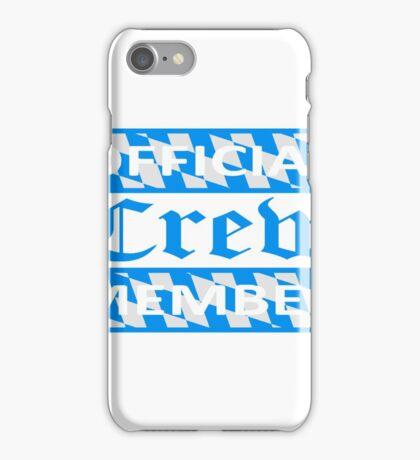 flagge blau weiß bayern official crew member party saufen team oktoberfest logo symbol cool design  iPhone Case/Skin