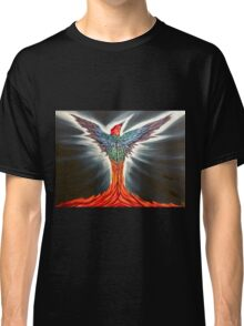 Flame Feather Phoenix Classic T-Shirt