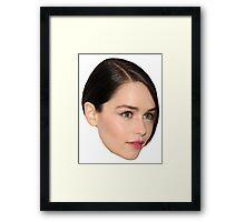 Emilia Clarke Framed Print