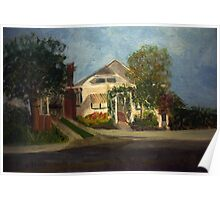 Cason Cottage Delray Beach Poster