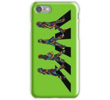 Groovy Beatles in the Crosswalk iPhone Case/Skin