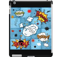 Comic Book Graffiti iPad Case/Skin