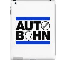 AUTOBAHN (2) iPad Case/Skin
