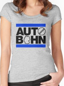 AUTOBAHN (2) Women's Fitted Scoop T-Shirt