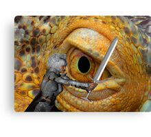 Dragon Slayer 3 Canvas Print